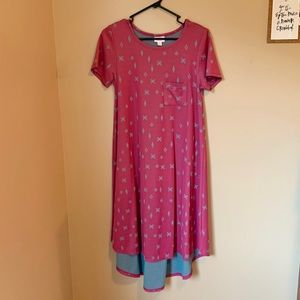 LuLaRoe dress Carly XS (EUC)
